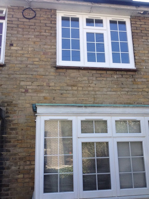 box and sash window